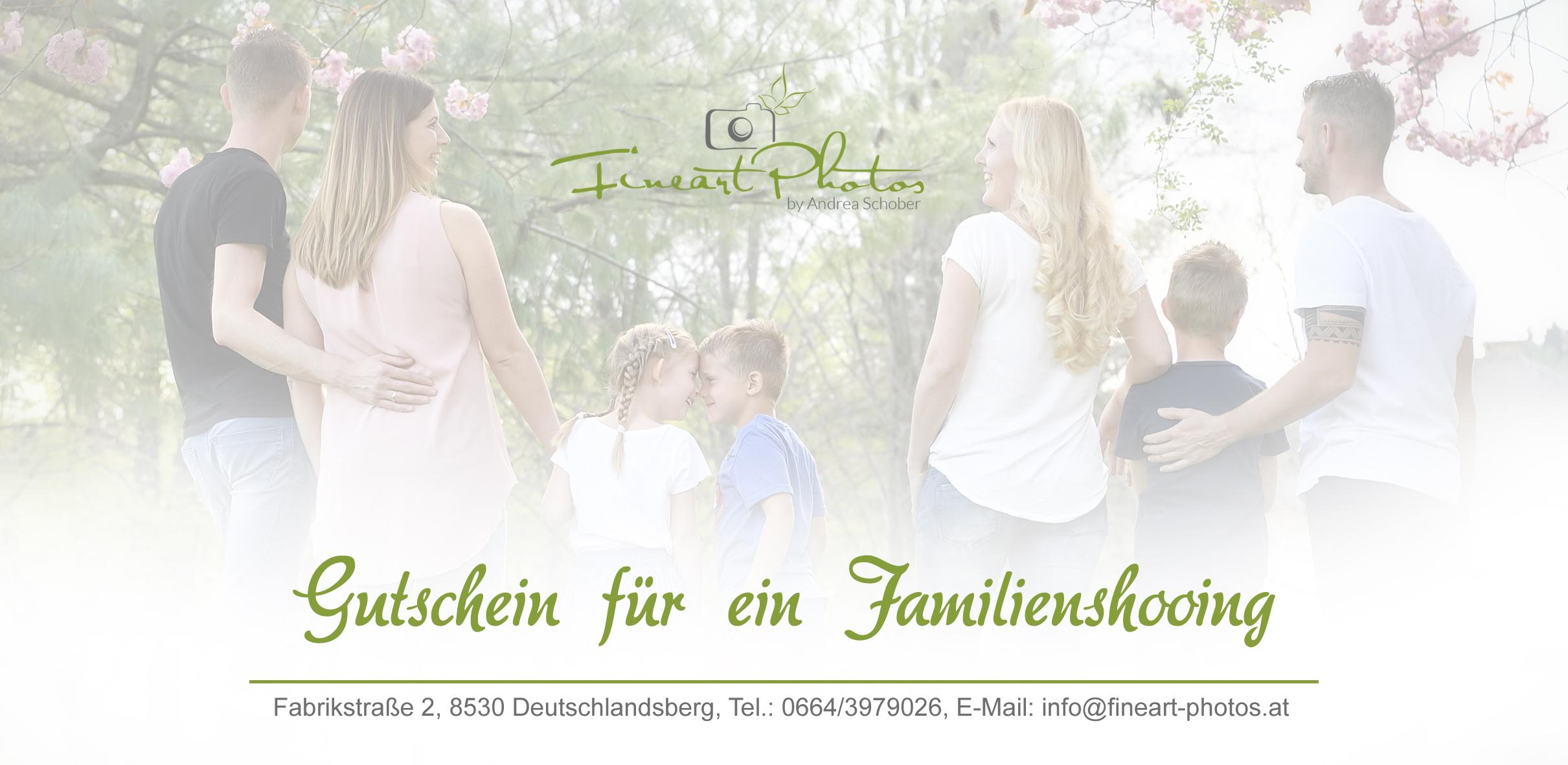 Familiengutschein